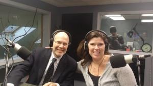 Kristin Pressly and Doctor Jim Schlosser