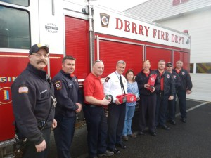 Derry Fire: Gets pet saving equipment.