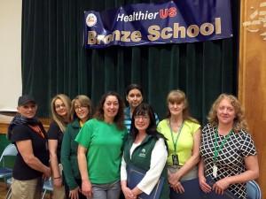 Hillside cafeteria staff