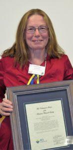 Ashworth:  Award winner