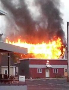 Wilson St. Fire: An accident