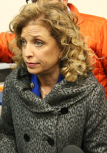 Wasserman Shultz: Caught colluding with Clinton