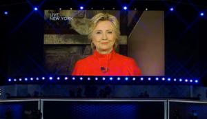 Hillarys Big Brother moment