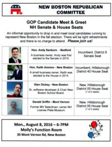 New Boston GOP event flier
