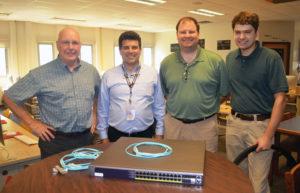 The men of the Dark Fiber network