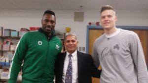 Power, Vargas and Jerebko at Parkside