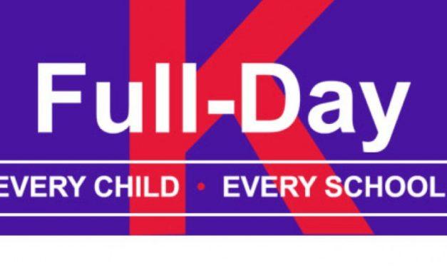 Warning on Full Day Kindergarten