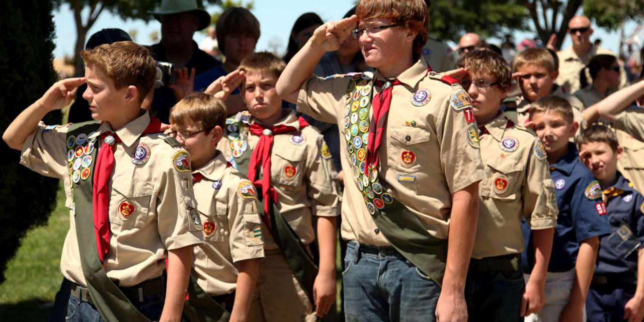 Right to Know, Coed Boy Scouts and a First Amendment Event