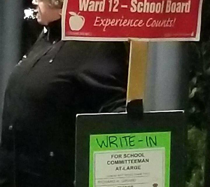 School Board Politics and a Write-In Campaign