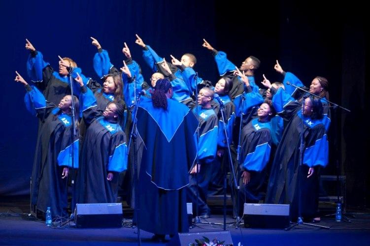 The Howard Gospel Choir of Howard University