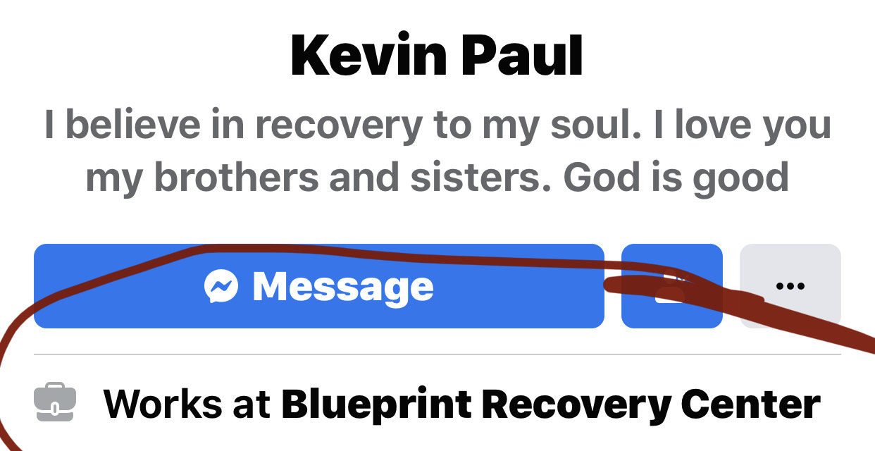 """Kevin Paul:  Not just a """"sober home"""" resident"""