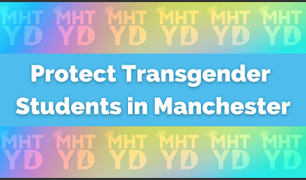 Manchester Young Democrats push school transgender policy, urge outsiders to contact school board